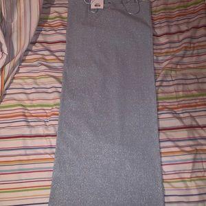 Topshop Dresses - NWT TopShop Glitter Ribbed Sheath Dress